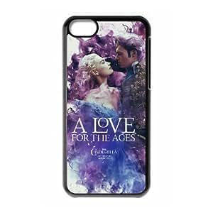Cinderella iPhone 5c Cell Phone Case Black present pp001_9761181