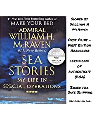 Sea Stories AUTOGRAPHED by Admiral William H. McRaven (SIGNED BOOK) COA (May 21, 2019)