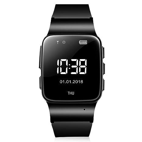 Amazon.com: WiFi Men SmartWatch GPS Tracker Phone Call ...