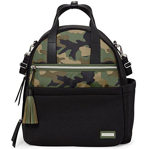 Skip Hop Nolita Neoprene Diaper Backpack, Black/Camo