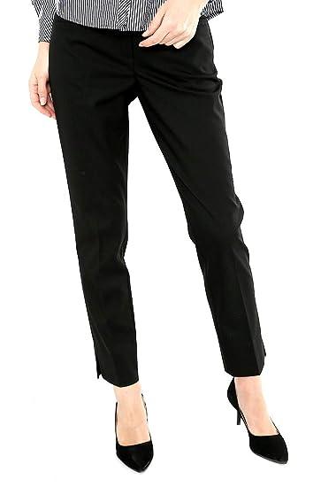 Marsel Pantalon Negro De Vestir Pantalones Para Mujer