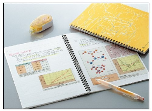 80 Pages Sky Blue 6mm Pack of 2 Semi B5-Dotted 40 Sheets Kokuyo Campus Twin Ring Notebook Tokyo Route Map