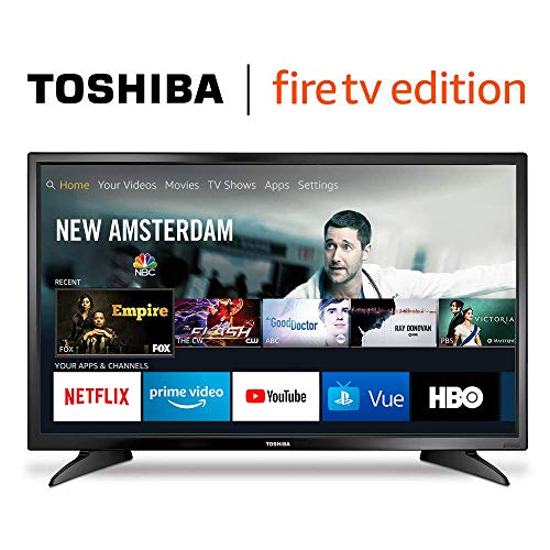 Toshiba 32LF221U19 32-inch 720p HD Smart LED TV - Fire TV Edition (Best Size Tv For Bedroom)