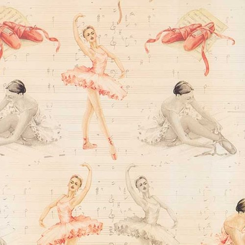 Tassotti Ballerinas Wrapping Paper