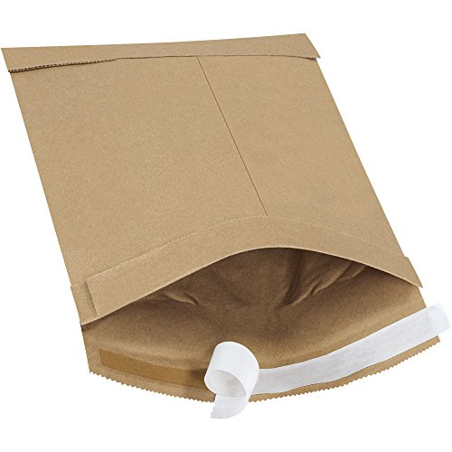 Boxes Fast BFB803SS25PK Self-Seal Padded Mailers, 0, 6