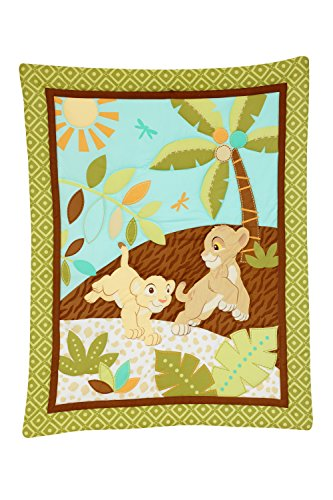 Disney Lion King 3 Piece Crib Bedding - Baby Kings Crib Bedding