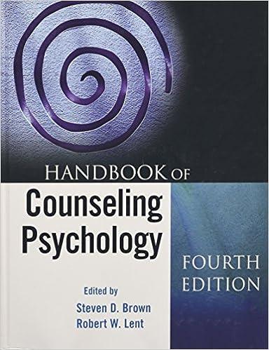 Amazon handbook of counseling psychology 9780470096222 handbook of counseling psychology 4th edition fandeluxe Images