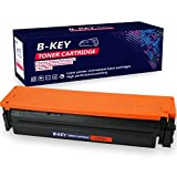Bkey Office Compatible Toner Cartridge Replacement for HP 201X ( Magenta)