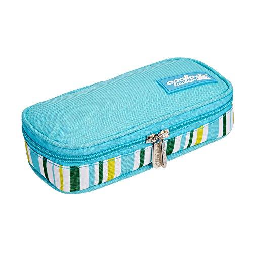 (ONEGenug Portable Insulin Cooler Bag Epipen case Diabetic Organizer Medical Travel Cooler (Light Blue))