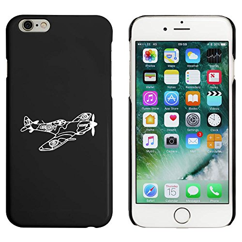 Noir 'Avion Spitfire' étui / housse pour iPhone 6 & 6s (MC00084748)