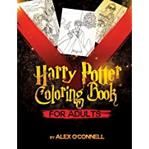 Harry Potter Coloring Book For Adults: Adult Coloring Books - Stress Relief Coloring