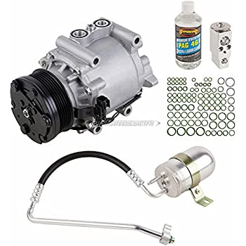 AC Compressor w/A/C Repair Kit For Ford Freestyle 2005 2006 2007 - BuyAutoParts 60-81455RK NEW