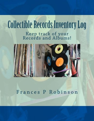 Collectible Records Inventory Log: Keep track of your Records and Albums in the Collectible Records Inventory Log. Track up to 1000 items in one convenient book.