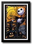 The Nightmare Before Christmas (blacklight) 27x39 Framed Art Print