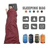 sleeping bag - CAMTOA Outdoor Camping Sleeping Bag,Ultra-light Envelope Sleeping Bag for Travel Hiking - Spring, Summer & Fall(Waterproof)