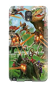 Hazel J. Ashcraft's Shop 8051990K21189377 Top Quality Case Cover For Galaxy Note 3 Case With Nice Dino Riders Appearance
