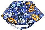 Flap Happy - Sombrero para el sol,CHT6AZB, Varones ,  Sea Safari, Small