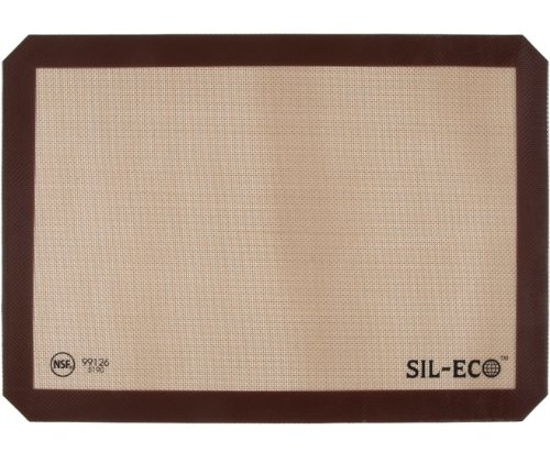 Sil-Eco Non-Stick Silicone Baking Liner, Half Sheet Size, 11-5/8 inch x 16-1/2 inch (2-Pack)