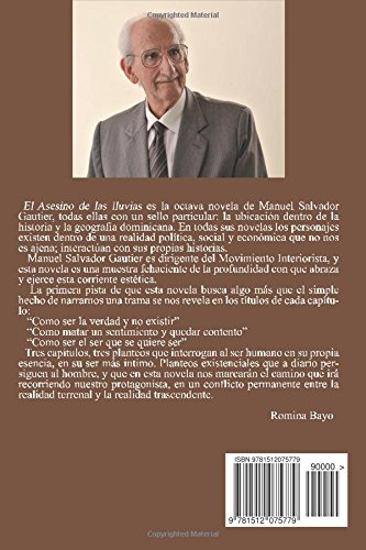 El Asesino de las lluvias: Amazon.es: Gautier, Manuel Salvador: Libros