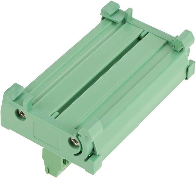 12 Positionen Stromverteilungs Sicherungsmodulplatine Schnittstellenkarte Für Din Schienenmontage Baumarkt
