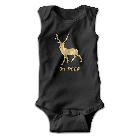 2284655d6a76 Amazon.com  Honeykid Baby Girl Boy Oh Deer Hunting Christmas ...
