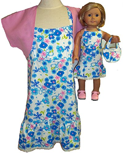 Matching Girl And Doll Clothes Sundress/Jacket/Purse Size 8