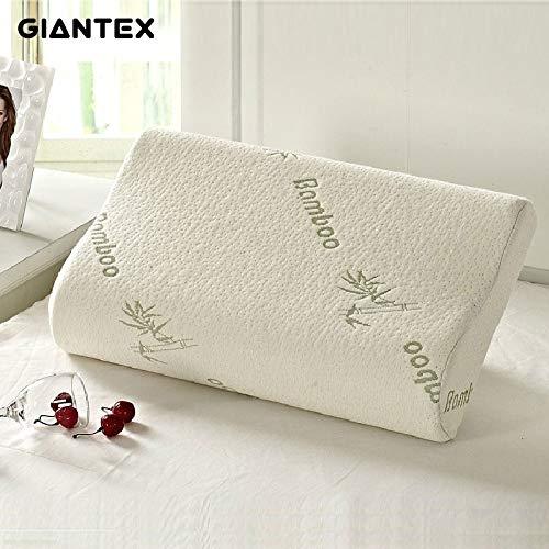 (Flyingpets Travel Pillows - Dog Pillow Bed - Dog Bed Pillow - Large Dog Bed Pillow - Sleeping Bamboo Memory Foam Orthopedic Pillow Pillows Oreiller)