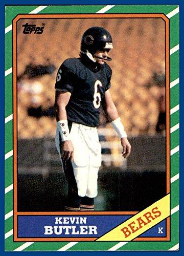 1986 Topps #18 Kevin Butler RC CHICAGO BEARS ROOKIE GEORGIA BULLDOGS (nrmt-mint) -