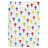 50 Christian Cross Large Plastic Party Bags