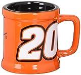 Koehler 37406 2.875 Inch Nascar Sculpted Mini-Mug Shot Glass