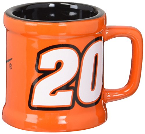 Koehler 37406 2.875 Inch Nascar Sculpted Mini-Mug Shot Glass