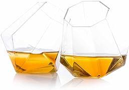 Se devi fare un regalo ad un amante degli alcolici, questi bicchieri a forma di diamante sono belli da vedere ma soprattutto ottimi per degustare bevande alcoliche.
