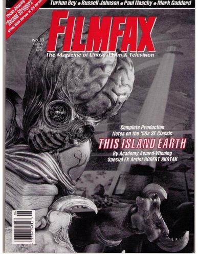 FILMFAX #33 MAGAZINE (Jun/Jul 1992)(THIS ISLAND EARTH COVER)(Unusual Film & Television)