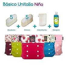 Pañales Ecológicos My Little Baby Paquete Básico Unitalla Niña