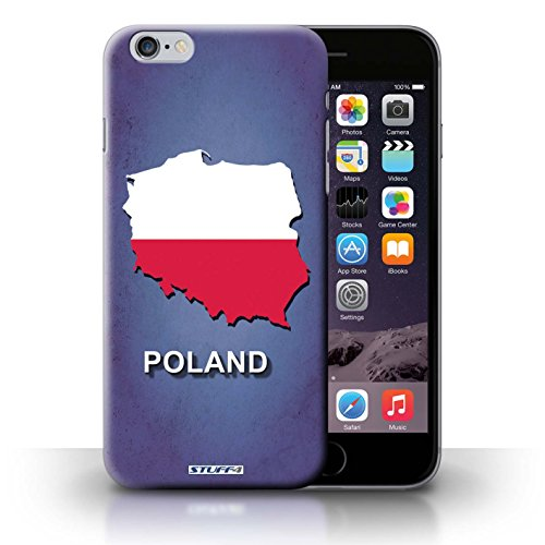 Kobalt® Imprimé Etui / Coque pour iPhone 6+/Plus 5.5 / Pologne/Polonais conception / Série Drapeau Pays