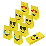 Best Bag For Parties - Aresmer Emoji Paper Bags Party Treat Bags Review