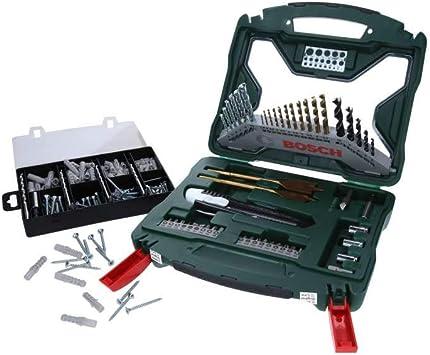Maletín Bosch X-line 50 piezas + Set fijación: Amazon.es ...