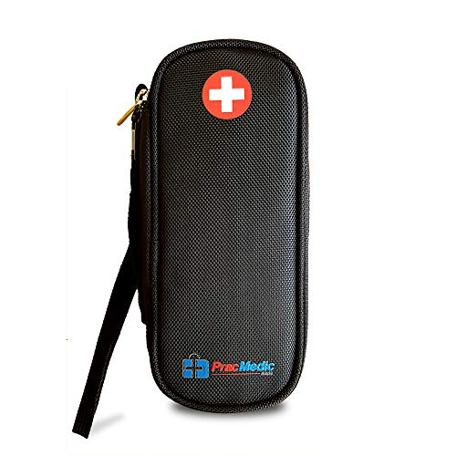 PracMedic Bags EpiPen Case - Fashionable Insulated Travel Medicine Kit - Immediate Access to Medications During Emergency Situations for Kids and Adults ()