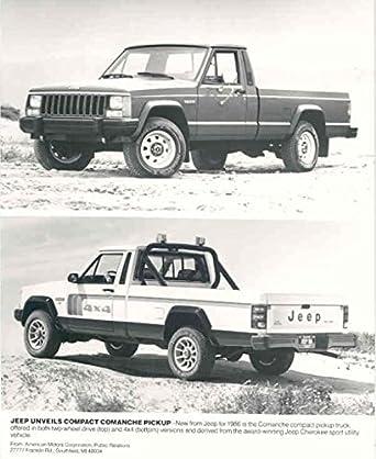Amazon 1986 Jeep Comanche Pickup Truck Photo Poster