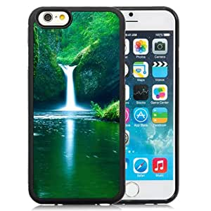New Beautiful Custom Designed Cover Case For iPhone 6 4.7 Inch TPU With Waterfalls Phone Case