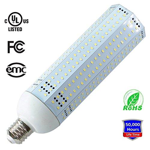 150W LED Corn Light Bulb, 5000K Daylight White, 19500LM, Large Mogul E39 Base, JESLED LED Corn Light Replacement for Metal Halide Bulb, HID, CFL, HPS UL Listed