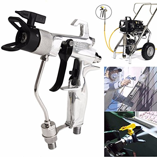 4500PSI Airless Spray Gun with 517 Tip & Guard Air-assisted for Graco Titan - Outlets Anthem In