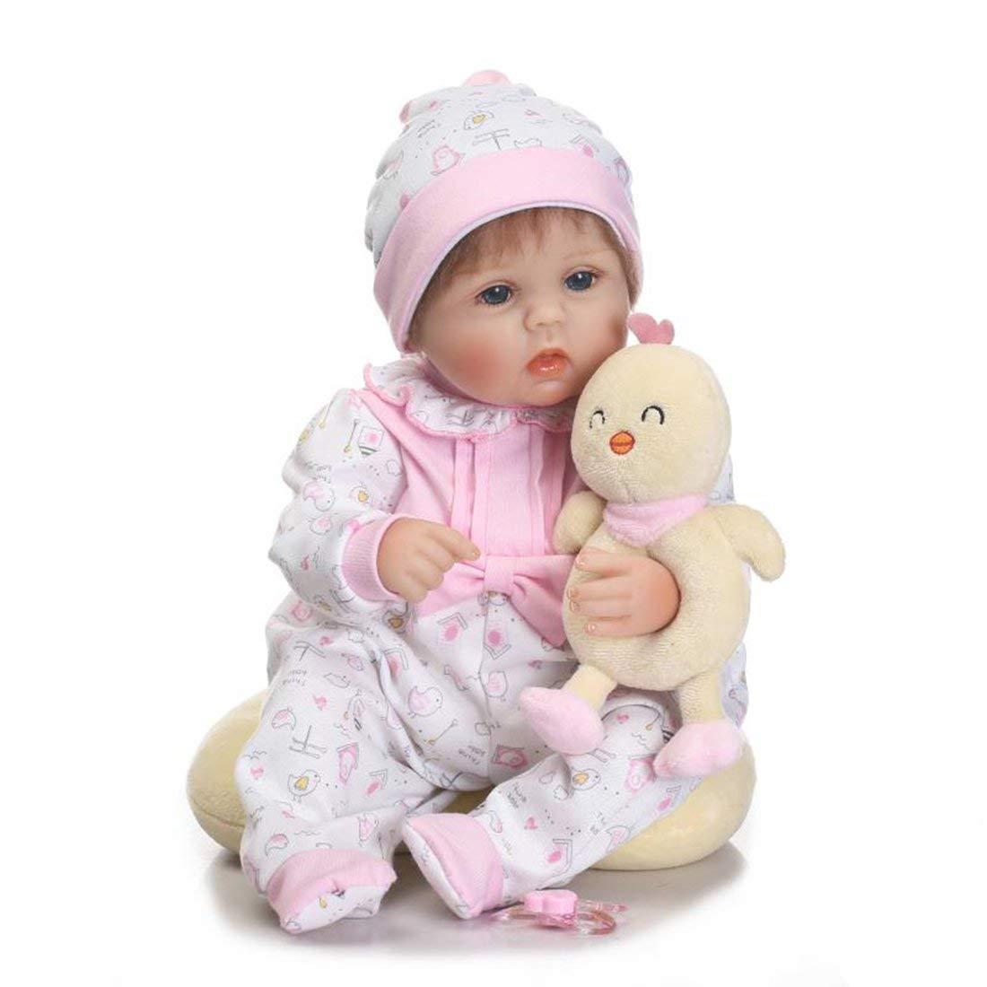 Formulaone 16 Zoll Tuch körper weichen silikon Vinyl Baby Kinder Baby Reborn Baby Puppe Playmate Geschenk ungiftig sicheres Spielzeug handgemachte Puppe Spielzeug