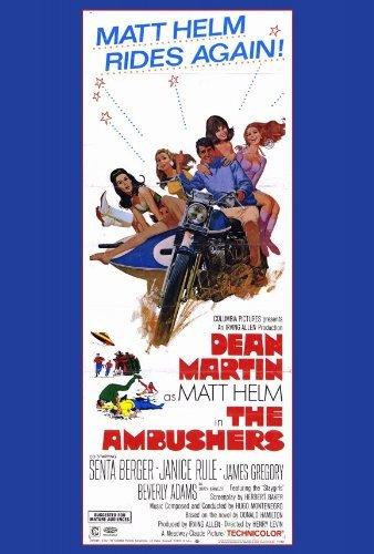 The Ambushers POSTER Movie (27 x 40 Inches - 69cm x 102cm) (1967) (Style B) - Ambushers Poster