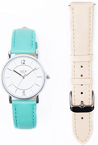 bill S Watches Reloj Cuero para Mujer Luxe Trend piel Pack ...