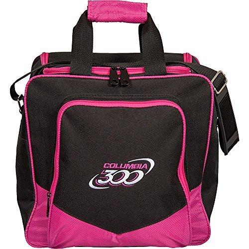 Columbia 300 White Dot Single Bowling Bag, - Bags Bowling Ball 1 Pink