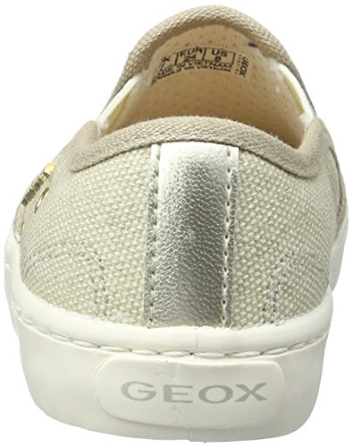 Geox Jr Kilwi Girl, Zapatillas Para Niñas Beige (Beige C5000)