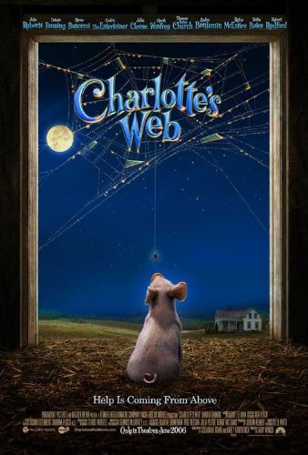(CHARLOTTES WEB 27x40 ORIGINAL D/S MOVIE POSTER)