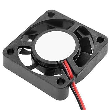 OcioDual Ventilador 12V 2 Cables Reprap Impresora 3D Prusa Fan ...
