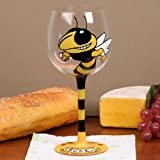 Best Football Fanatics Wine Accessories - NCAA Georgia Tech Yellow Jackets Hand-Painted 16oz. Wine Review